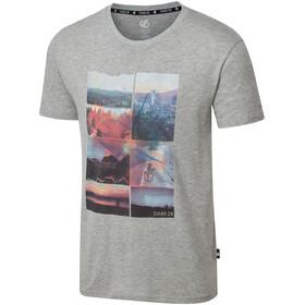 Dare 2b Token Camiseta Hombre, ash grey marl